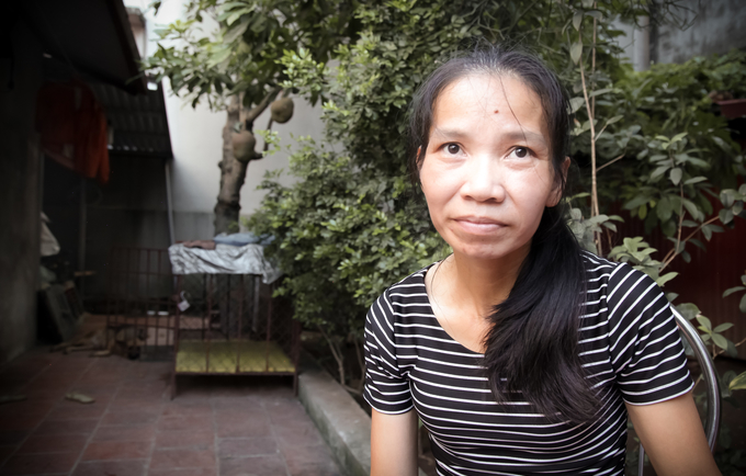 Thuy Anh (37) has helped secure her family's finances through family planning. Photo © UNFPA / Matthew Taylor